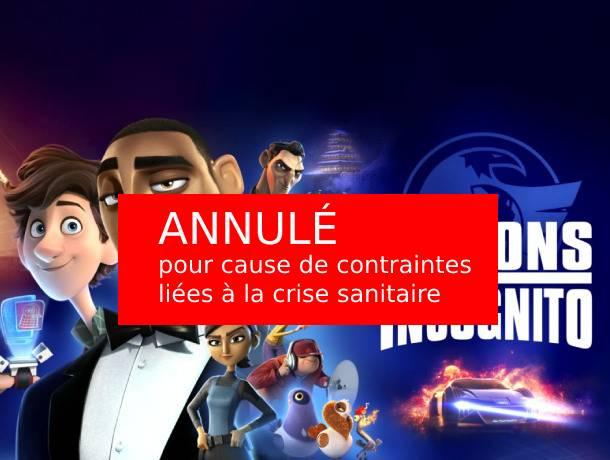 Espions incognito : Cinéma en plein air centre socioculturel des Moulins - Chambery